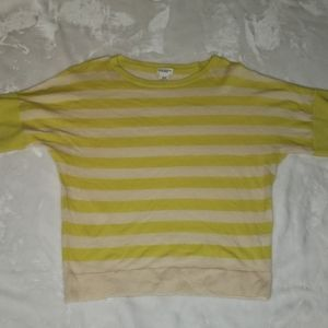 Club Monaco Cashmere short sleeved sweater